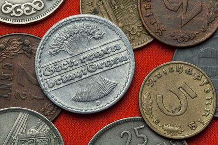 Münzen Der Weimarer Republik Deutsch 50 Reichspfennig Münze 1921