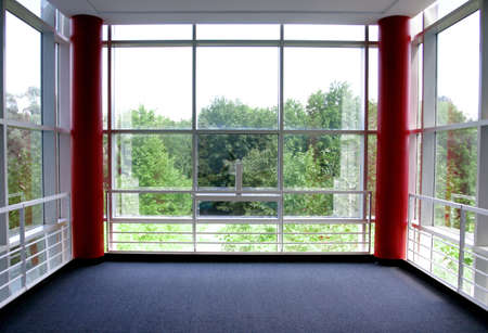 Office space with view Stock Photo