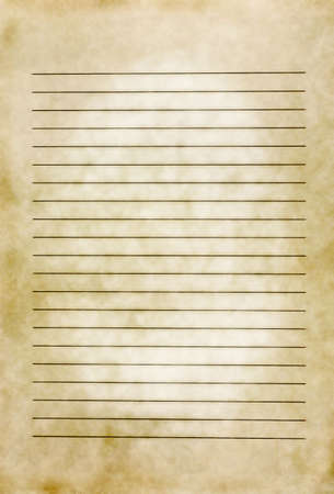 Lined Aged Paper