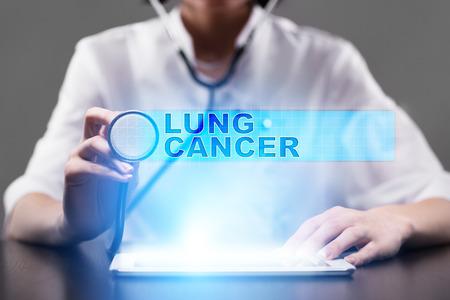 lung cancer. medical concept. Stock Photo