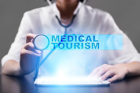 medical tourism. medical concept.