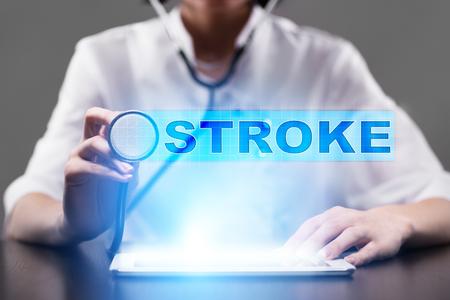 stroke. medical concept.