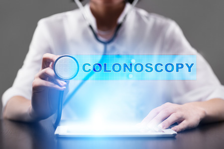 colonoscopy: colonoscopy. medical concept.