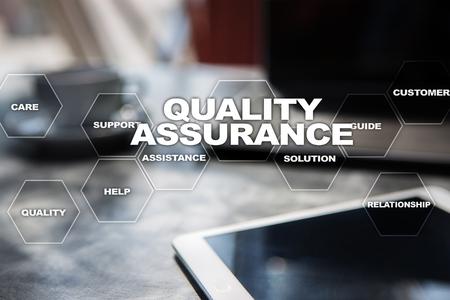 Quality assurance concept.