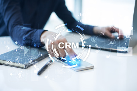 CRM. Customer relationship management concept. Customer service and relationship. Reklamní fotografie
