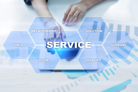 Customer service and relationship concept. Business concept.