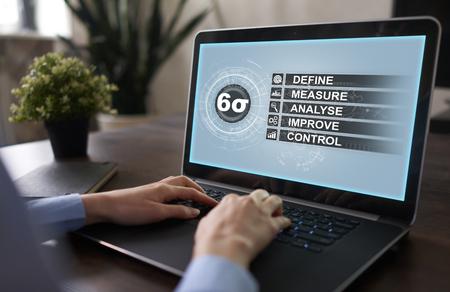 Six sigma - set technieken en tools voor procesverbetering.