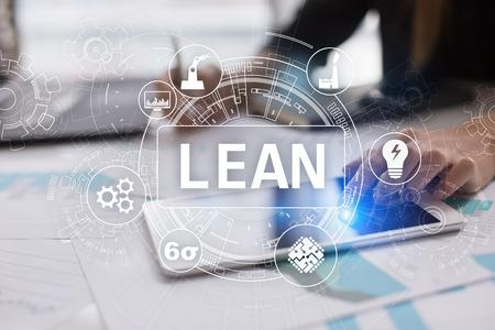 Lean manufacturing. Kwaliteit en standaardisatie. Verbetering van bedrijfsprocessen.