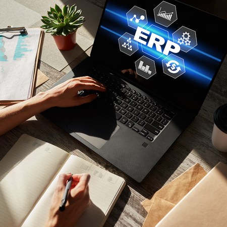ERP system. Enterprise resources planning. Business process automation.