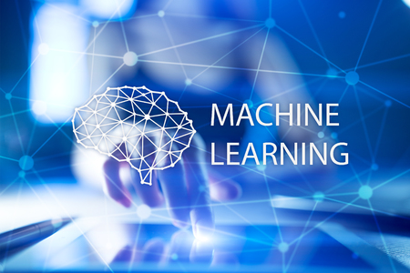 Machine learning technology and artificial intelligence in modern manufacturing.