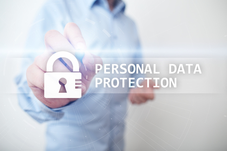 Personal data protection, Cyber security and information privacy. GDPR