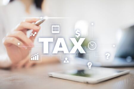 Concept of TAX paid by individuals and corporations. VAT. Income and wealth tax.