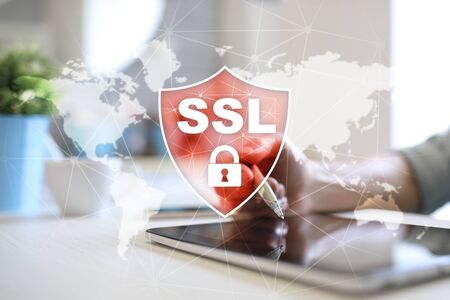 SSL Secure Sockets Layer, a computing protocol. Security of data sent via the Internet by using encryption.