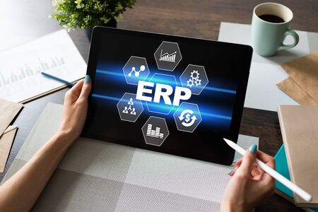 ERP system. Enterprise resources planning. Business process automation.