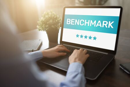 BENCHMARK, business processes and performance metrics to industry bests practices from other companies.