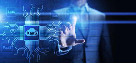 XaaS PaaS SaaS IaaS DBaaS Infrasstructure Service Data Base Platform development solution for business