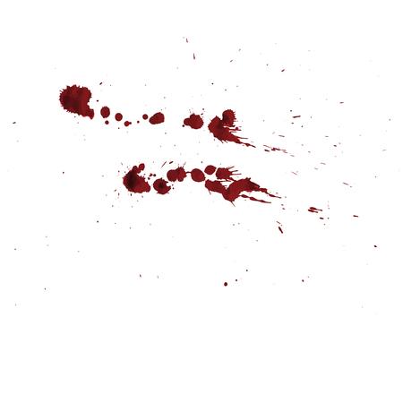 vector blood splatter isolated Stock Vector - 64555191