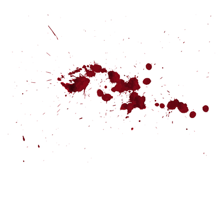 Blood drip. Good blood background in halloween day Illustration