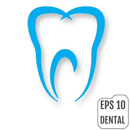 Dental logo. Concept of Dental Clinic. Vector illustration Illustration