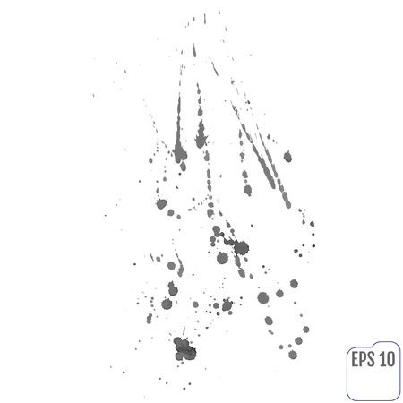splat: Paint splat set.Paint splashes set for design use.Abstract vector illustration.