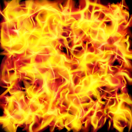 gas fireplace: Vector fire flame texture background