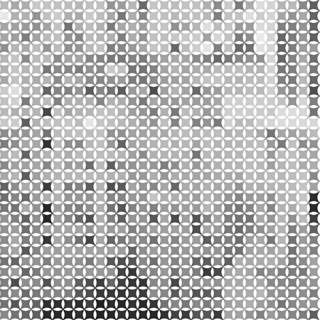 Halftone Geometric Pattern with Rectangles and Squares. Background for Textile, Wallpaper, Fabric, Tile