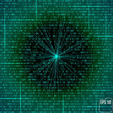 Abstrakter futuristischer Hintergrund der Zukunftsromane Standard-Bild - 75192972