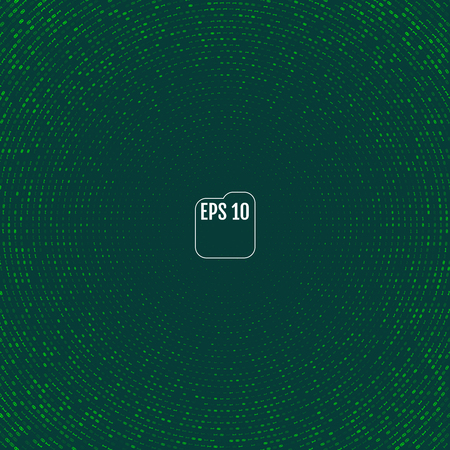 Vector matrix style binary background with numbers.
