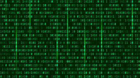 Matrix background with the green symbols.  Format 16:9.