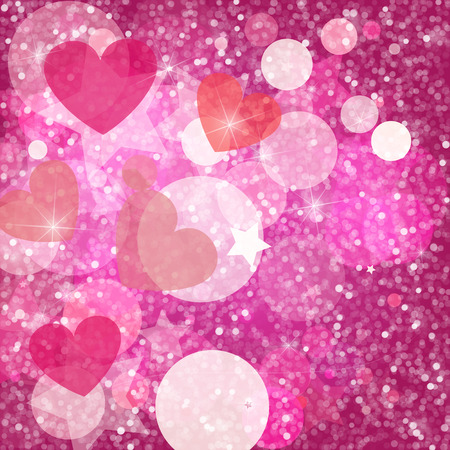 Hearts and shine pattern