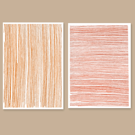 Brown wooden wall, plank, table or floor surface. Chopping board, wood texture. Illustration