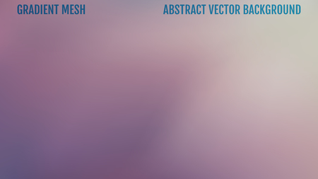 Abstract background. Gradient mesh. Easy editable trendy soft colored vector illustration.  向量圖像