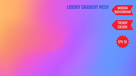 Bright neon mesh gradient background. Smooth modern colors with light. Trendy concept for your graphic design, banner, poster, user interface or mobile app.