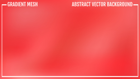 Gradient red abstract background. Vector illustration eps 10.