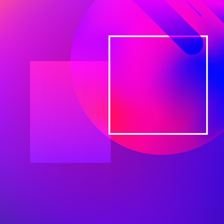 Abstract background. Minimal geometric design. Modern abstract cover. Dynamic shapes composition.