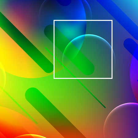 Abstract modern background. Colorful geometric background. Gradient mesh.Vector eps 10