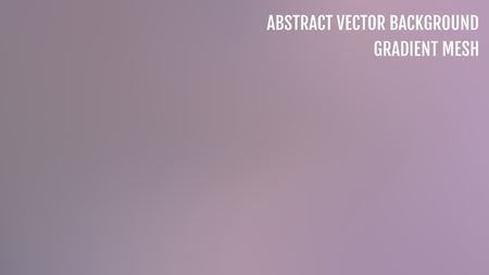 Gradient abstract vector background. Blurred color backdrop. Vector illustration for your graphic design, banner, poster.