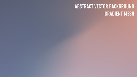 Gradient abstract vector background. Blurred color backdrop. Vector illustration for your graphic design, banner, poster. Vetores