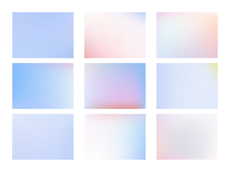 Smooth gradient texture. Modern colorful flow poster. 矢量图像
