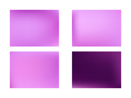 set of Modern Colorful Mesh Background for Banner or Print., Abstract Color Gradient Background for your Design. Abstract pink and purple blurred background Stock Illustratie