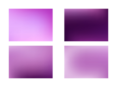 Abstract pink blurred gradient mesh background set of Color transition., Glowing website pattern.