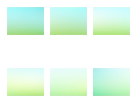Set of Modern Colorful Mesh Background for Banner or Print. Green and blue blurred gradient mesh background Archivio Fotografico - 123248299