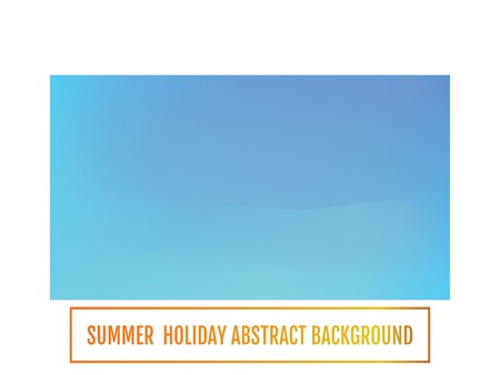 Summer holiday banner, abstract background Festive abstract background.  イラスト・ベクター素材