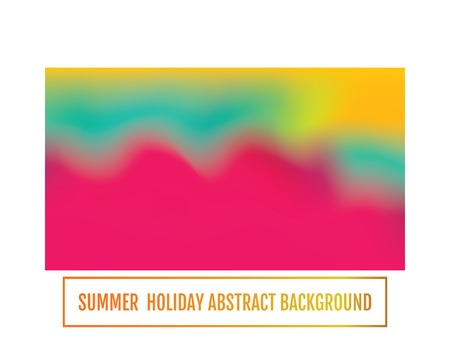 Color transition. Summer holiday banner, abstract background Stock Illustratie