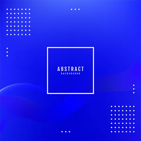 Asbtract Blue background design. Blue geometric background.
