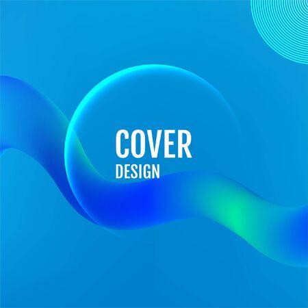 Blue Minimal covers design. Blue covers design.