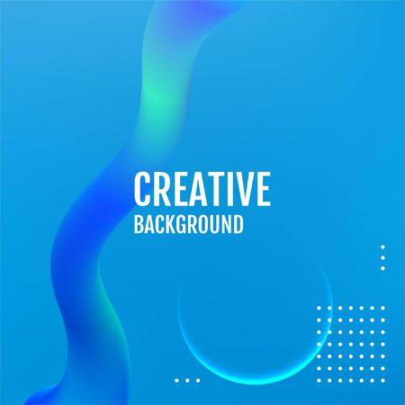 Future Blue geometric patterns. Blue Minimal covers design. Illustration
