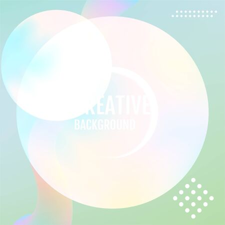Nature Minimal geometric background. Abstract Nature modern graphic element.