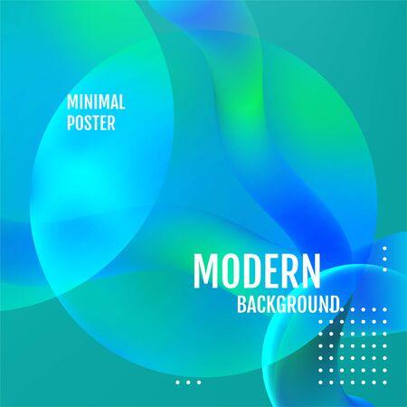 Nature Minimal covers design. Nature Minimal geometric pattern gradients. Illustration