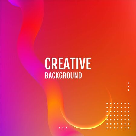 Abstract light vector background. Fluid shapes composition.